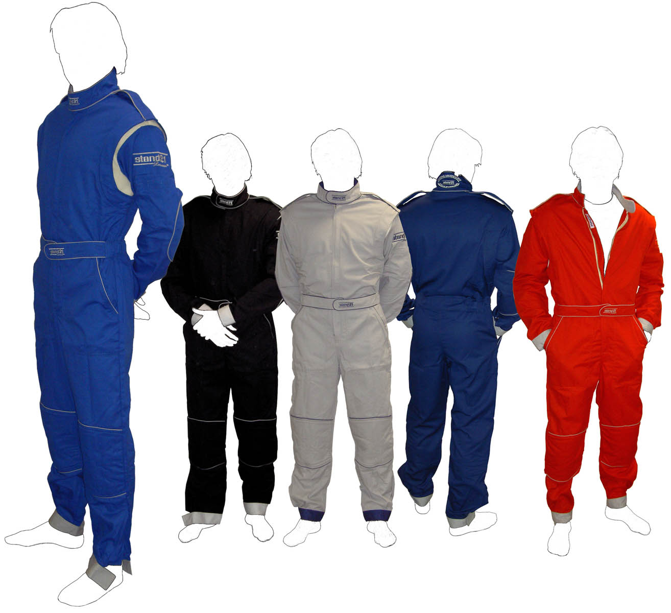 Stock MC2 technical staff suits