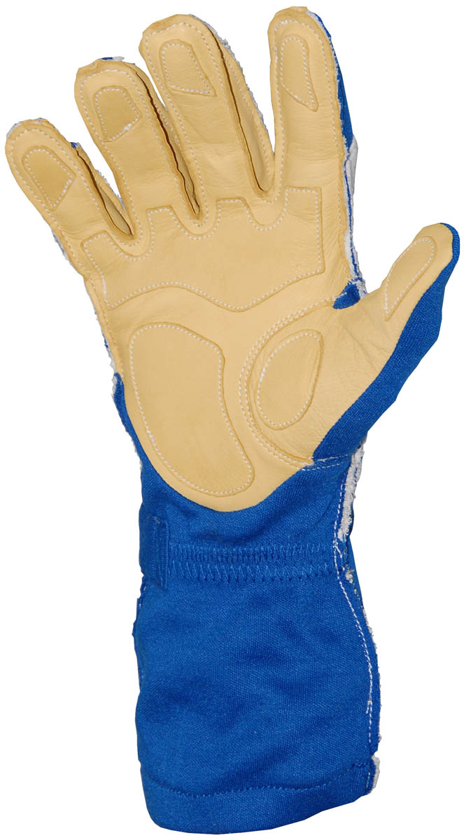 Stock royal blue Carrera - Outside Seams gloves